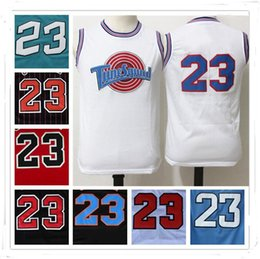 Wholesale White Christmas Star - 100% Stitched Swingman SW Michael MJ Tune Squad 23 Jersey Cheap Retro All star Hot Throwback Gift jerseys Sport HOT Christmas