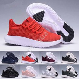 Wholesale Cheap Designer Box - (With Box) Wholesale Tubular Shadow 3D Breathe Classical Men's Women's Sneakers Shoes Cheap Breathable Casual Walking Designer Trainers Shoe