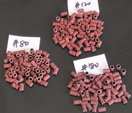 Wholesale Band Drum - 300Pcs Assorted #80,#120,#180 Sanding Bands Nail sanding drum for Nail Drill Bits
