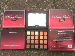 Wholesale Palette Metal - New makeup Violet Voss pro Holy Grail Drenched Metal Laura 20 color eyeshadow palette