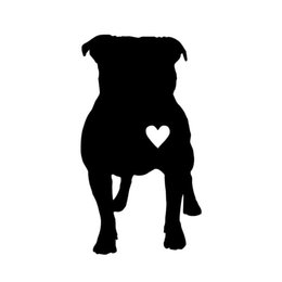 love stickers Coupons - Hot Sale Car Styling For Heart I Love My Dog Interesting Vinyl Decal Sticker Car Window Bumper Wall