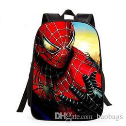 2017 più nuovo Spider-man vendicatore alleanza 16 pollici bambini sacchetto di scuola stampa super eroe Studenti delle scuole elementari Zaino di cartone animato da