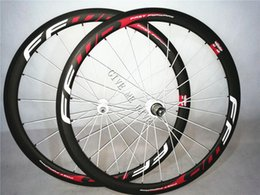 Wholesale Oem Road Bike Wheel Rims - 700C Carbon 38mm FFWD F4R Bicycles Wheelset 23m widthCarbon rims Track Bike Wheels Novatec Hub clincher wheels OEM products