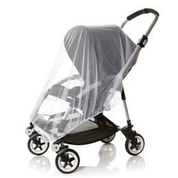 Wholesale Midges Net - Wholesale- Baby Mosquito Net for Pushchair Strollers, Carriers, Car Seats, Cradles Safe Protective Fly Midge Insect Cover. Made of White