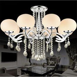 Wholesale European Led Crystal Chandeliers - European MINI Style Elegant Luxury 9 Light Crystal Chandelier, Modern Ceiling Light Fixture for Dining Room,Bedro om, Living Room