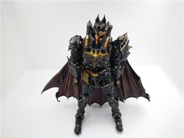 Wholesale play kai arts figure - POPOToyFirm Play Arts Kai Timeless Batman Steampunk Style PVC 27 cm Action Figure Toy Model With Boxes