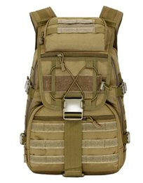 Wholesale Tactical Molle Backpack Waterproof - 40L camping bags waterproof Molle backpack military 3P Tad Tactical Backpack assault travel bag for men cordura Free china post