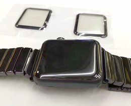 Real 3D Pantalla completa Pantalla de cristal templado de alta calidad Protector de pantalla Cubierta protectora para todo Apple Watch Iwatch Caja de vidrio templado para Iwatch desde fabricantes