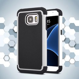 Wholesale Galaxy Note Ballistic - Football Rugged ballistic Impact Combo PC+silicone Case cover For Samsung Galaxy S4 S5 S5 MINI S6 S6 EDGE S7 S7 EDGE A8 NOTE 4 NOTE 5 50PC