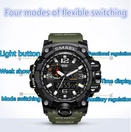 Wholesale Sports G Shocks Watches - relogio G WG men's sports watches GW1000 Display LED Fashion army military shocking watches men Casual Watches