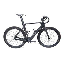Wholesale New Carbon Road Frame - FCFB carbon road bike Pro01 47 49 51cm new carbon road frame 3K matt BB92 bicicleta road bike frame with handlebar stem