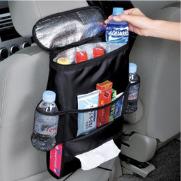Wholesale Hanger Packs - Auto Car Seat Organizer Insulation Work Sundries Multi-Pocket Holder Travel Storage Bag Hanger Backseat Ice Pack Organizing Bags
