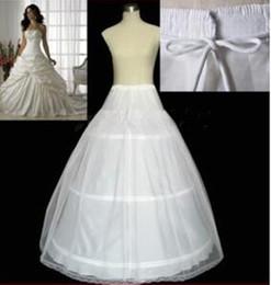 Canada Plus Size New Hot Accessoires de mariée blanc 3 Hoop A - Ligne PETTICOAT Crinoline SLIP Underskirt Robe de mariée MARIAGE Offre