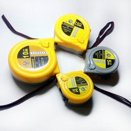 Wholesale Stainless Steel Tape Measures - High-precision tape measure stainless steel tape measure Steel ruler for woodworking measure 3m 5m 7.5m 10m anti-wear gray yellow