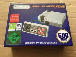 Wholesale European American Music - 2017 new European and American version of Nes mini game HD HDMI interface MiniTV game built-in 600 games DHL free shipping