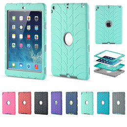 Wholesale Heavy Duty Case Cover - For iPad mini 1 2 3 4 5 6 Air Air2 iPad Pro Retina Kids Baby Safe Armor Shockproof Heavy Duty Silicone Hard Case Cover