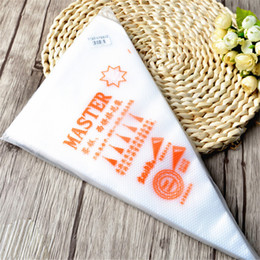 Wholesale Cheap Cake Decorating - Cheap Disposable Cream Pastry Bags Cake Icing Piping Decorating Tool Kitchen Accessories S M L size free shipping wn086