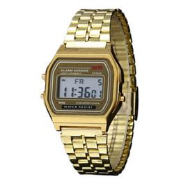 Wholesale Wholesale For Clocks - 100pcs lot Ultra-thin Digital Children Watch Kids Watch Candy Colors Children Wristwatch Wholesale Clock Hour For Kids