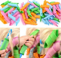 Wholesale Sell Hair Home - 2017 high quality and hot selling DIY MAGIC Leverag Hair Curler Roller Circle Hair Styling Perm Wholesale