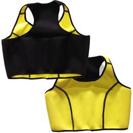 Wholesale Tank Body Shapers - Hot Neoprene Sports Bra Slimming Shapers Bra Hot shapers Vest Body Shaper Women sports vests Tops Tanks
