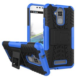 Wholesale Metal Accessories For Bags - Mobile Phone Accessories Parts Mobile Phone Bags Cases Hybrid TPU Armor Silicone Rubber Hard Case For Asus Zenfone 3 Max ZC520TL Hard