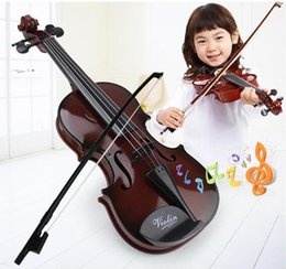 Wholesale Violin For Kids - New Fashion and Educational Children Super Cute Mini Music Simulation Violin Gift For Kids Boy Girl Toy Room Living Room