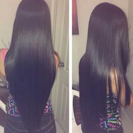 Meilleurs cheveux remy droites en Ligne-Bemiss Cheveux Brésilien Péruvien Malaisien Indien Cambodgien Mongol Vierge de Cheveux Humains Weaves Naturel Noir Droite Meilleure Vente Articles Cheveux