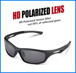 Wholesale Optical Frames Titanium For Woman - TR90 Unbreakable Frame Sunglasses DHL Polarized Optical Sports Sunglasses for Baseball Running Cycling Fishing Golf out1281