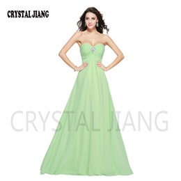 Wholesale Ever Pretty Long Dress - Hot Sale 2017 Long Strapless Ever Pretty Chiffon Off the shoulder Floor-Length A-line Empire Prom Evening Dresses