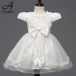 Wholesale Little Girls Ballgown Dresses - White red wedding dresses for little girl pink flowers dresses girls dresses bridesmaid princess bow ballgown vestidos pricesa