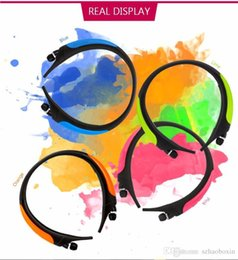 Wholesale Clear Earphones - HBS 850 Wireless Bluetooth Headphone HBS850 Stereo Sport Earphone With MIC Strong Bass Clear Voice For Iphone 7 Samsung s7 edge