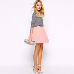 Wholesale Sweet Black Lolita - Lolita Style Sweet Peach Color White Mini Short Tulle Skirts Elastic Pleat Skirt Fashion Skirt For Women Best Gift For Lover