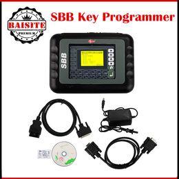 Wholesale Silca Sbb Programmer - V33.02 Key Professional Universal Auto sbb Key Programmer Multi-language SBB Silca V33.02 K-ey P-rogrammer Key Maker Free Ship