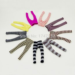 Wholesale Doll Leggings - 3pcs lot Cute Candy Color Leggings for Tangkou, Kurhn, Bly-the, 1 6 BJD, Barbies Doll Clothes Dolls Accessories