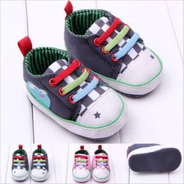 Wholesale Cheap Wholesale Baby Sneakers - 2017 new cheap wholsale Kids Baby Sports Shoes Boy Girl First Walkers Sneakers Baby Infant Soft Bottom walker Shoes