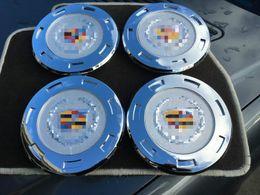 "Wholesale Escalade 22 Wheels - 4pcs Car styling NEW SET 2007-2014 for CADILLAC ESCALADE 22"" WHEELS COLOR CENTER HUB CAPS 9596649 Free shipping"