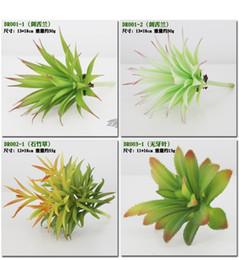 Piante artificiali con vaso bonsai cactus tropicale falso pianta grassa vaso ufficio decorativo vaso di fiori decorativi all'ingrosso wa3741 da succulente impianto all'ingrosso fornitori