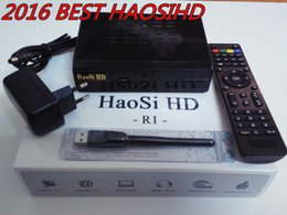 Wholesale Dvb S Tv Box - [Genuine]cheapest Arabic high-definition IPTV set-top box with high-definition Haosi Arab TV IPTV 900 + channel Europe and the Americ