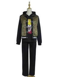 Wholesale Yuri Cosplay - Yuri!!! on Ice Yuri Plisetsky Daily Black Suit Halloween Cosplay Costume
