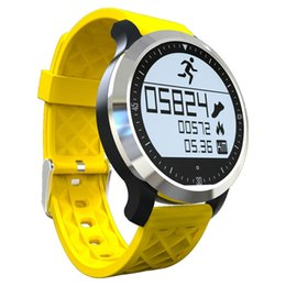 Wholesale Healthy Watches - Wholesale- New F69 Smart Watch IP68 Waterproof Sportwatch Swimming Mode Intelligent Healthy Heart Monitor Wrist Bands FOR IOS Android Phone