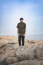 Wholesale Purpose Design - 2017 FGSS Justin Bieber Original Design Summer Purpose Tour Printed Men's T Shirt Hip Hop Camouflage Casual Cotton Tops Tees