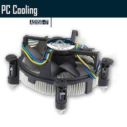 I7 lga 1155 online-Großhandels-ALSEYE GH1156-i7 CPU-Kühler, Aluminium-Hitze mit 90mm CPU-Lüfter für i3 / i5 / i7 LGA 1156/1155/1150 12V Kühllüfter Dissipater