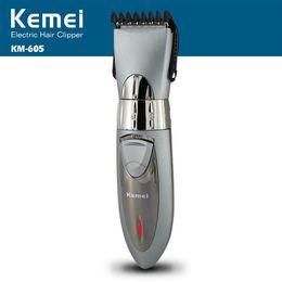 Wholesale Kemei Trimmer Cut - T013 kemei professional hair clipper electric hair trimmer waterproof hair shaving machine hair cutting beard electric razor