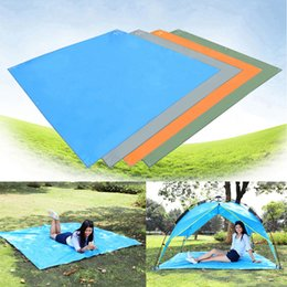 Wholesale Camp Canopies - Wholesale- HWHot! Waterproof Camping Mat Mattress Outdoor Tent Oxford Cloth Canopy Picnic Mat nieuwe collectie