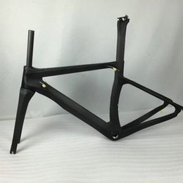 Wholesale Cheap Carbon Fibre Road Bikes - Free shipping bicycle carbon frameset DIY road bike carbon frame sky team bike framest T1000 made in china cheap frames