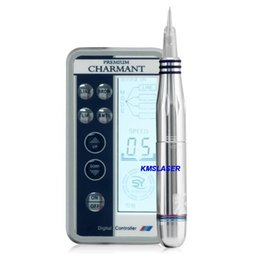 Wholesale Permanent Cartridge Tattoo Needle - 2016 Nouveau contour needle Cartridges digital permanent makeup Tattoo machine with LCD power micro needle machine