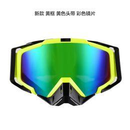 Wholesale Helmets Cross Country - Motorcycle goggles male Cross-country helmet goggles To prevent against Ski glasses riding goggles helmet visor