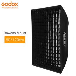 "Wholesale Strobe Light Godox - Wholesale- Godox 32""x 47"" 80x120cm Honeycomb Grid Softbox soft box with Bowens Mount for Studio Strobe Flash Light"