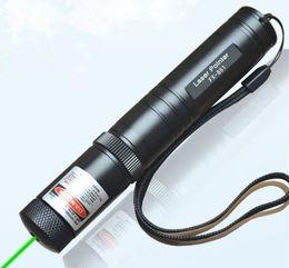 Wholesale High Power Laser Waterproof - High power bright green and red light mini laser pen waterproof far range laser pointer free shipping
