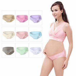 Wholesale Support Panties - Cotton Maternity Pregnant Mother Panties Lingerie Briefs Underpants Underwear Belly Support Cotton Panties M-2XL 9 Colors